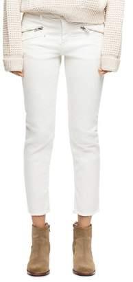 Zadig & Voltaire Ava Crop Straight Jeans in Judo