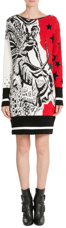 Emilio Pucci Emilio Pucci Knit Dress with Virgin Wool and Angora