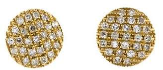 Ralph Lauren Dana Rebecca Designs 14K Diamond Joy Medium Stud Earrings