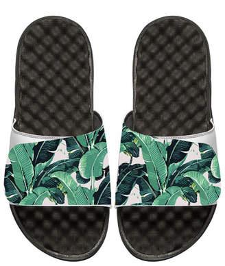 ISlide Tropical Banana Leaf Slide Sandal