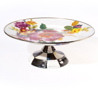 Mackenzie Childs MacKenzie-Childs Small Flower Market Pedestal Platter