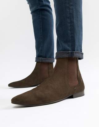 WALK LONDON Walk London Mark Suede Chelsea Boots