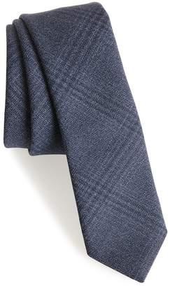 Eleventy Plaid Wool Tie
