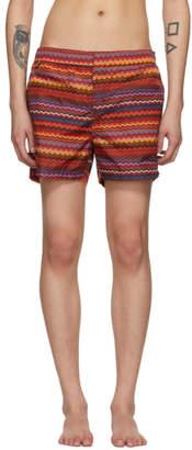 Missoni Multicolor Multi Zig Zag Swim Shorts