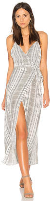 Jens Pirate Booty Stripe Jana Wrap Dress