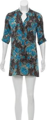 Tucker Mini Shirt Dress