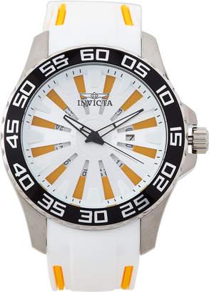 Invicta 25474 Silver-Tone & White Pro Diver Watch