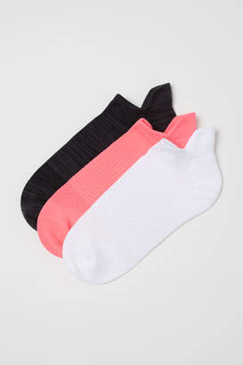 H&M 3-pack Sports Socks - Pink
