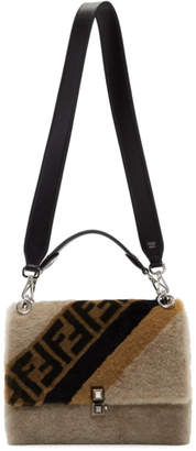 Fendi Multicolor Shearling Medium Forever Kan I Bag