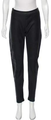 Gareth Pugh Leather Mid-Rise Pants