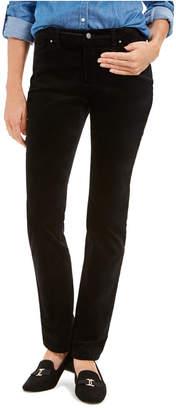 Charter Club Petite Lexington Velveteen Straight-Leg Jeans