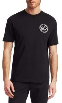 McQ Dropped Shoulder Emblem T-Shirt