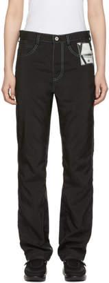 Kanghyuk Black Airbag Straight Jeans