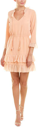 Paper Crown Ruffle A-Line Dress