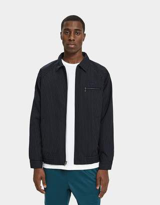 Stussy Bryan Zip-Up Jacket in Navy