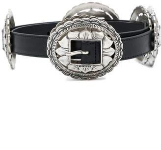 Diesel flower plate buckle belt