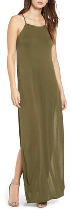 Dee Elly High Slit Maxi Dress