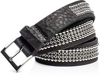 Zadig & Voltaire Ayla Leather Belt