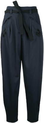 Markus Lupfer cropped balloon trousers