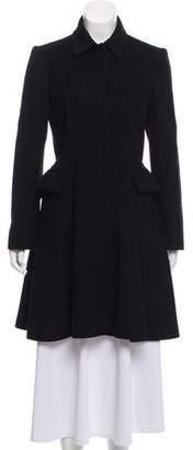 Miu Miu Wool-Blend Knee-Length Coat