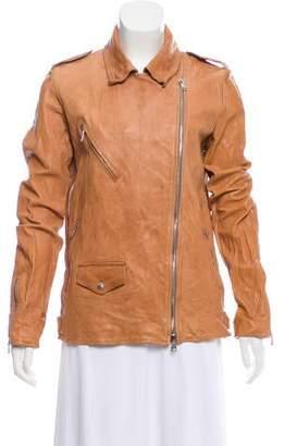 Giorgio Brato 2016 Leather Jacket w/ Tags