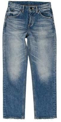Steven Alan Mid-Rise Straight-Leg Jeans
