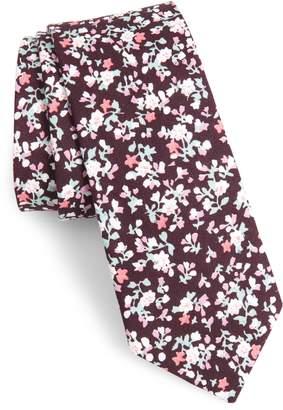 1901 Venera Floral Cotton Tie