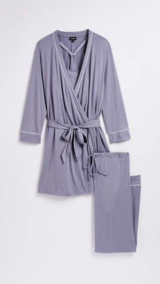 Cosabella Bella PJ Maternity 3 Piece Set