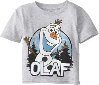 Disney Frozen Little Boys' Olaf T-Shirt, Heather ,T