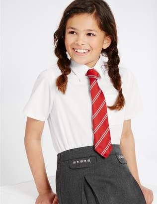 Marks and Spencer 2 Pack Girls' Easy to Iron Blouses