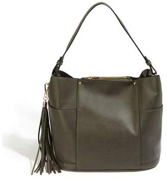 Oasis Mid Grey 'Holly' Hobo Bag