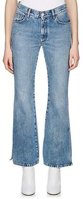 Maison Margiela Women's Side-Slit Crop Jeans