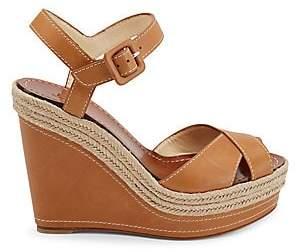 Christian Louboutin Women's Almeria 120 Espadrille Platform Wedge Sandals