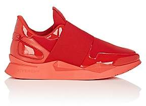 Givenchy Women's Mixed-Material Sneakers-Red