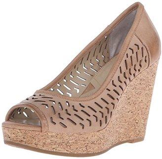 Adrienne Vittadini Footwear Women's Carilena Wedge Pump $39.99 thestylecure.com