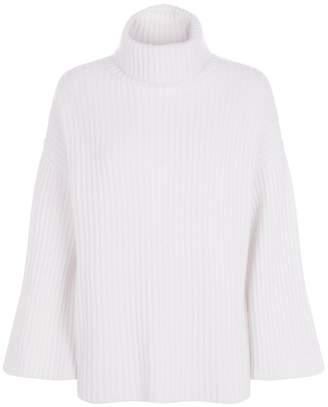 Allude Cashmere Roll Neck Sweater