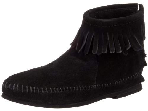 Minnetonka Women's Back-Zipper Bootie