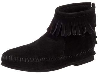 Minnetonka Women's Back Zipper Bootie