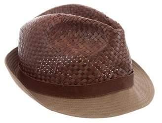 Etro Woven Havana Hat w/ Tags