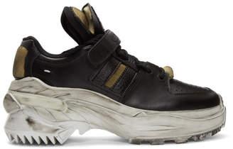 Maison Margiela Black Artisanal Sneakers