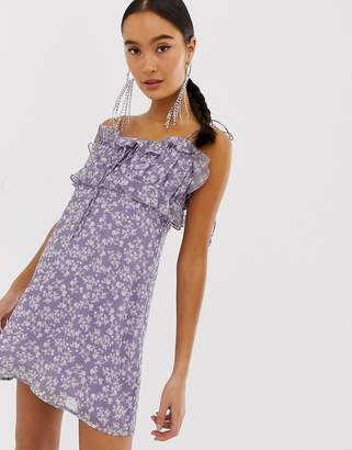 Emory Park cami dress in floral