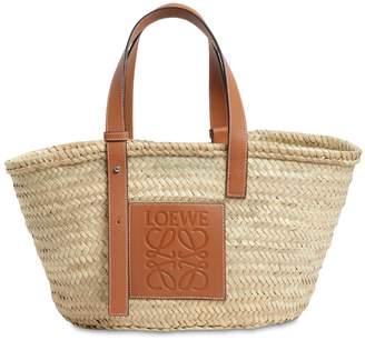Loewe Medium Woven Straw Bag