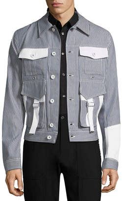 Diesel Black Gold Jost Stripe Caban Jacket