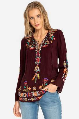 Johnny Was Free Spirit Blouse