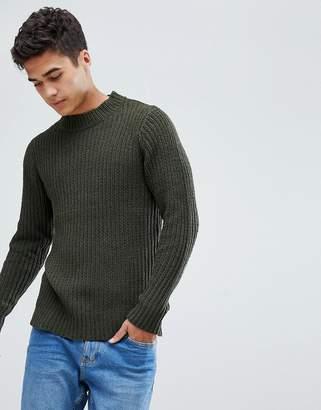 Brave Soul Soft Oversize Crew Neck knit