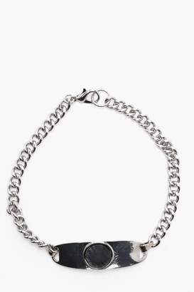 boohoo Multi Pack Bracelets In Silver Effects
