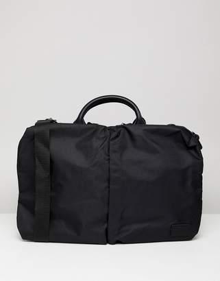 91750d6512 Asos Design DESIGN laptop bag in black with front double pockets