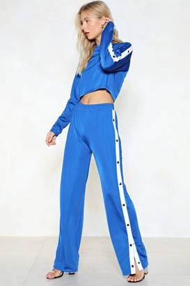 Nasty Gal Give the Game Tear-Away Joggers