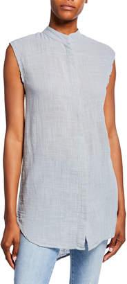 XCVI Janiva Sleeveless Button-Down Shirt