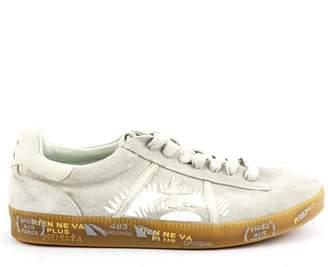 Premiata Andy Sneaker In Grey Suede Upper